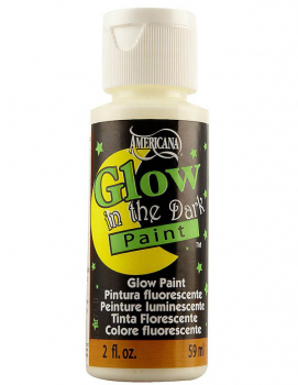 Americana Acrylic Paint - Glow in the Dark (2 oz)