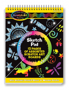 Scratch Magic Sketch Pad