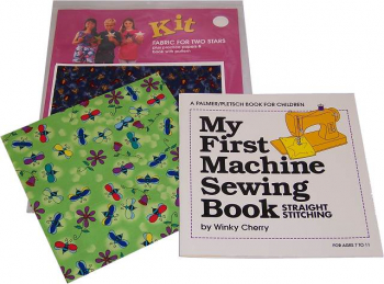 My First Sewing Machine Book & Kit
