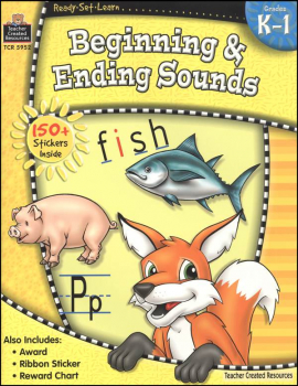Beginning & Ending Sounds (Ready, Set, Learn)