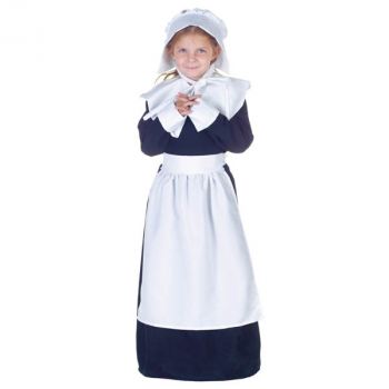 Pilgrim Girl Costume - Large
