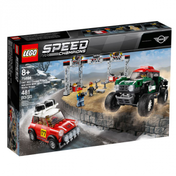 LEGO Speed Champions 1967 Mini Cooper S Rally and 2018 MINI J (75894)
