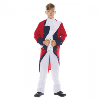 Redcoat Soldier Costume - Large