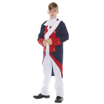 Revolutionary Soldier Costume - Large