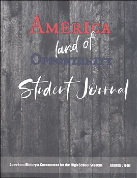 Living History of Our World: America, Land of Opportunity Student Journal