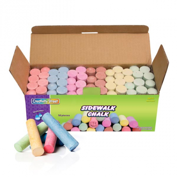 Tub of Sidewalk Chalk (52 pcs)