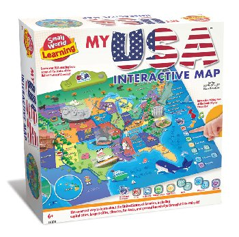 My USA Interactive Map