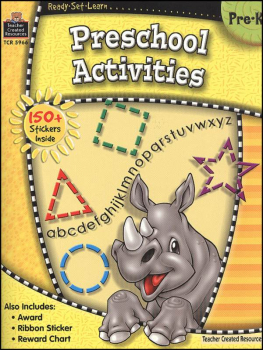 Preschool Activities (Ready, Set, Learn)