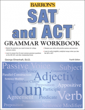 Barron's SAT and ACT Grammar Workbook Fourth Edition