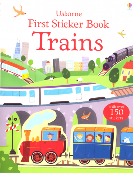 First Sticker Book - Trains