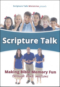 Scripture Talk: Making Bible Memory Fun Through Hand Motions DVD