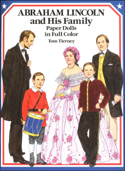 Abraham Lincoln and His Family Paper Doll