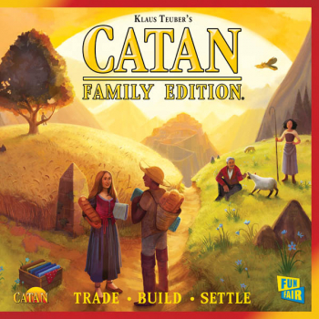 Catan Family Edition Game