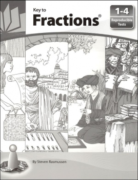 Key to Fractions Reproducible Tests for Books 1-4