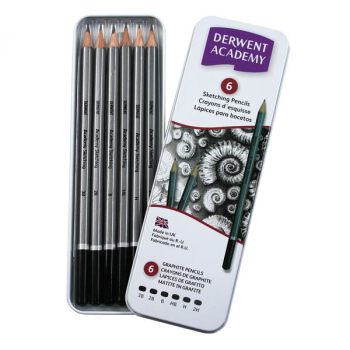 Academy Sketching Pencil Set (set of 6)