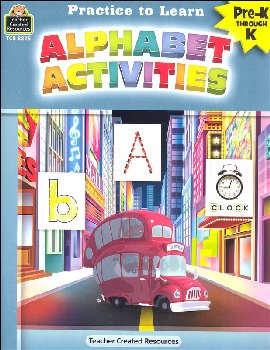 Alphabet Activities (Practice to Learn)