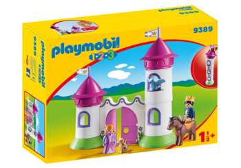 Castle with Stackable Towers (Playmobil 1-2-3)