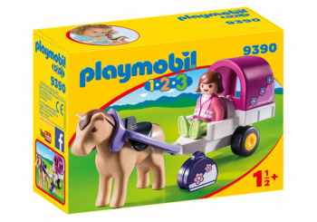 Horse-Drawn Carriage (Playmobil 1-2-3)