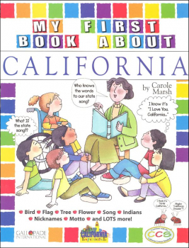 My First Book About California