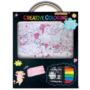 Creative Coloring Pouch - Unicorn Fantasy
