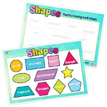 Basic Shapes Remarkable Activity Mat