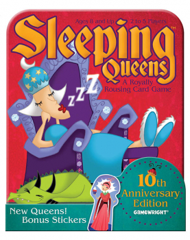 Sleeping Queens Deluxe Edition Game in a Tin