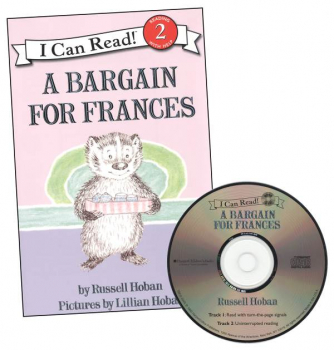Bargain for Frances Book and CD