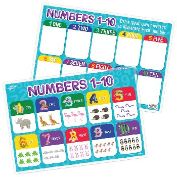 Numbers 1-10 Remarkable Activity Mat