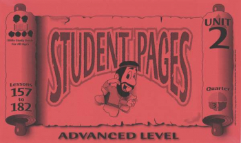Advanced Student Pages for Lessons 157-182
