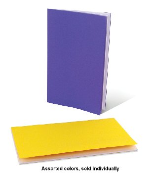 "Bright Book - Single Assorted Color (5.5"" x 8.5"")"