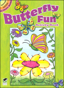 Butterfly Fun Little Activity Book