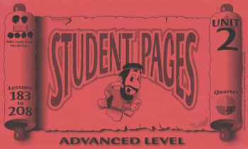 Advanced Student Pages for Lessons 183-208