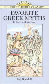 Favorite Greek Myths Children's (Thrift Edition)