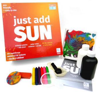 Just Add Sun Science & Art Activity Kit