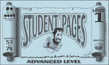 Advanced Student Pages for Lessons 053-78
