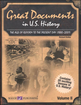 Great Documents in U.S. History: Vol. 2