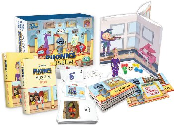Phonics Museum Complete Kindergarten Kit 2nd Edition
