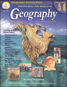 Discovering World of Geography Grades 5-6 (United States)