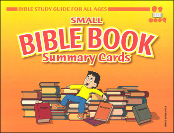 "Small Bible Book Summary Cards (4"" x 6"")"