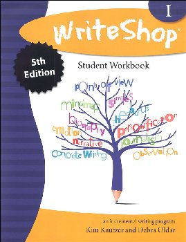 WriteShop: Incremental Writing Program Workbook 1 (5th Edition)