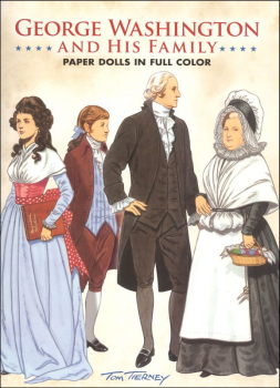 George Washington and His Family Paper Doll