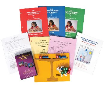 Hands-On Equations Home Packet (Learning System, DVD & Verbal Problems Intro Workbook)