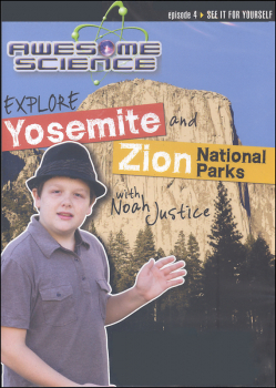 Awesome Science Episode 4: Explore Yosemite and Zion National Parks DVD