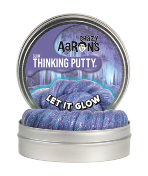 "Let it Glow Putty 4"" Tin with Glow Charger (Glow in the Dark)"