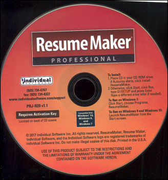 Resume Maker Professional Deluxe 20