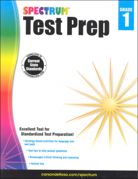 Spectrum Test Preparation 2015 Grade 1