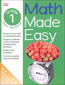 Math Made Easy Workbook Grade 1