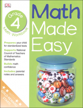 Math Made Easy Workbook Grade 4