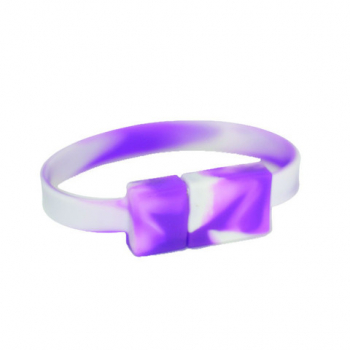 USB Flash Drive Wristband (Grape Drink) - Small