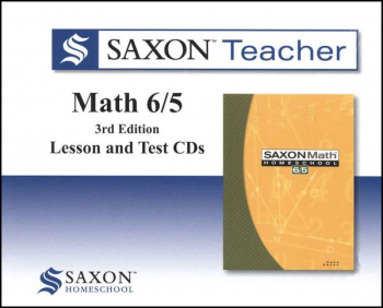 Saxon Teacher for Math 6/5 (3rd Edition) CD-ROM Set